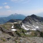 McCrae Mountain near Revelstoke, a hiking trail into the wild