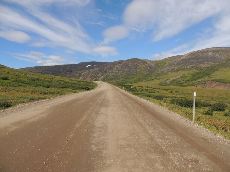 Gravel Travel Dempster Highway