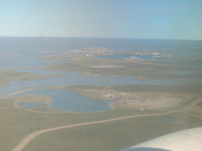 View of Tuktoyaktuk