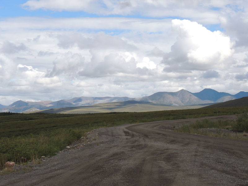 Dempster Highway mountains