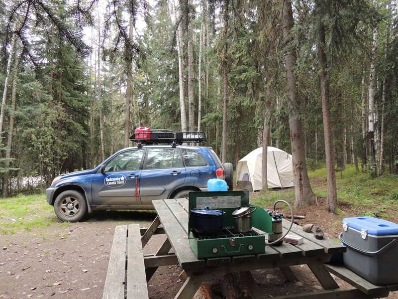 Backcountry Camping Yukon Canada