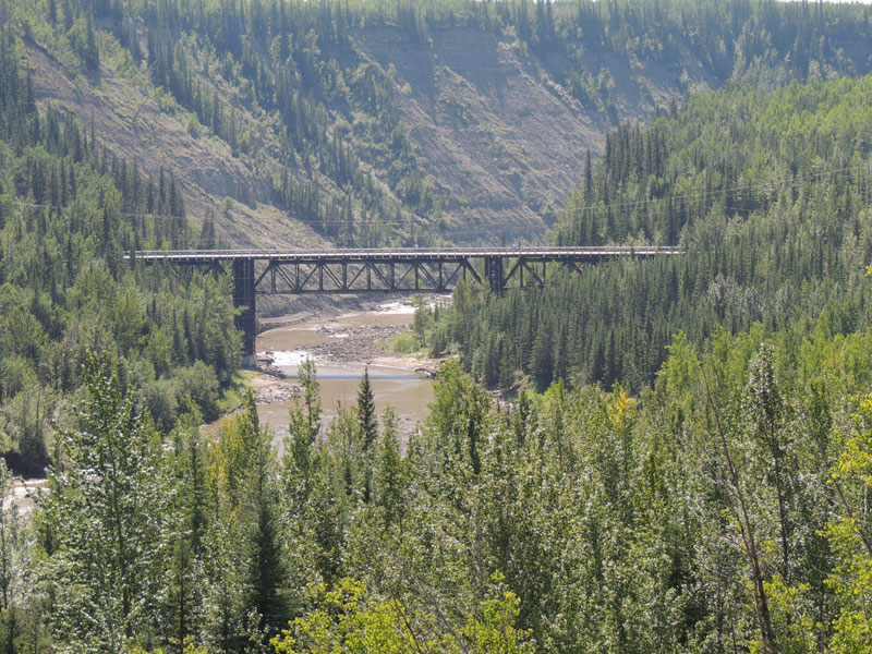 Kiskatinaw Bridge - Alaska Highway