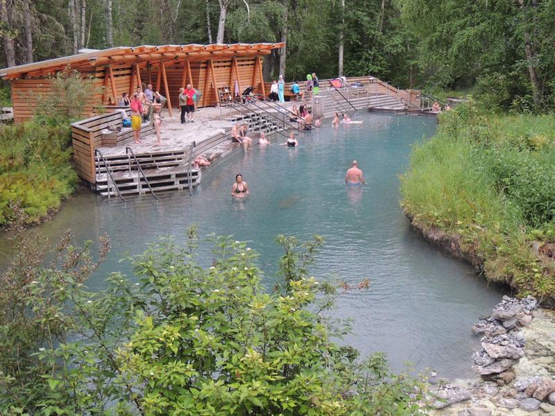 Liard Hot Springs BC