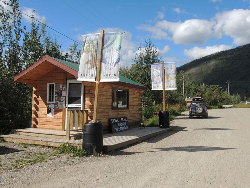 Silver Trail Dawson City Sign Yukon
