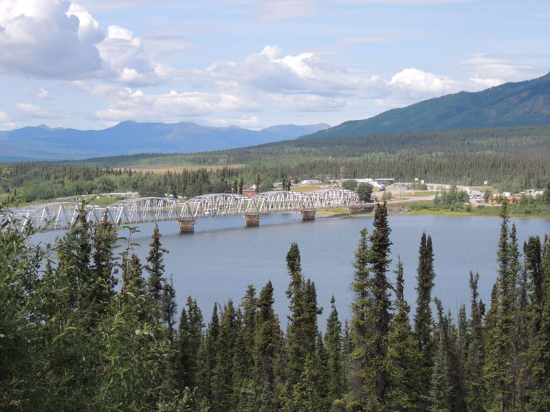 Tesslin Bridge Yukon