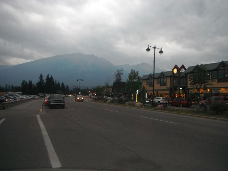 Canada Trip on paved highways and roads