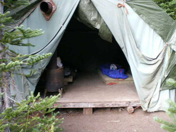 Backcountry Accommodation - camping