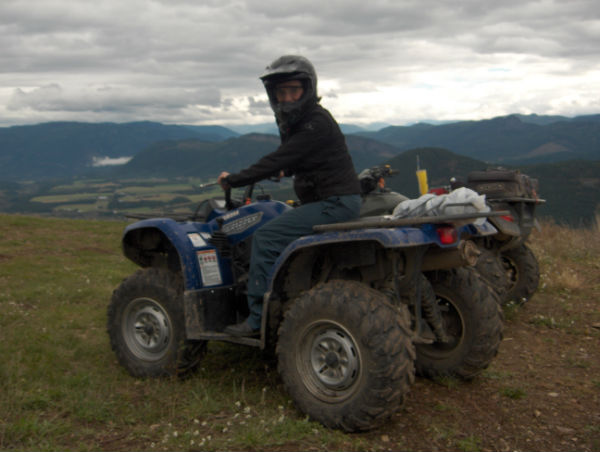 Lumby BC - ATV Adventures and recreation