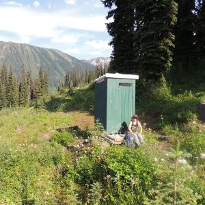 Canadian Outhouse Or The Privy