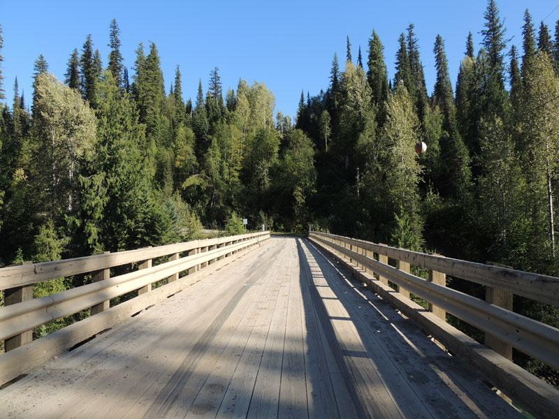 Backcroad wide bridge