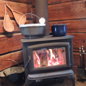 Ranch for sale - woodstove