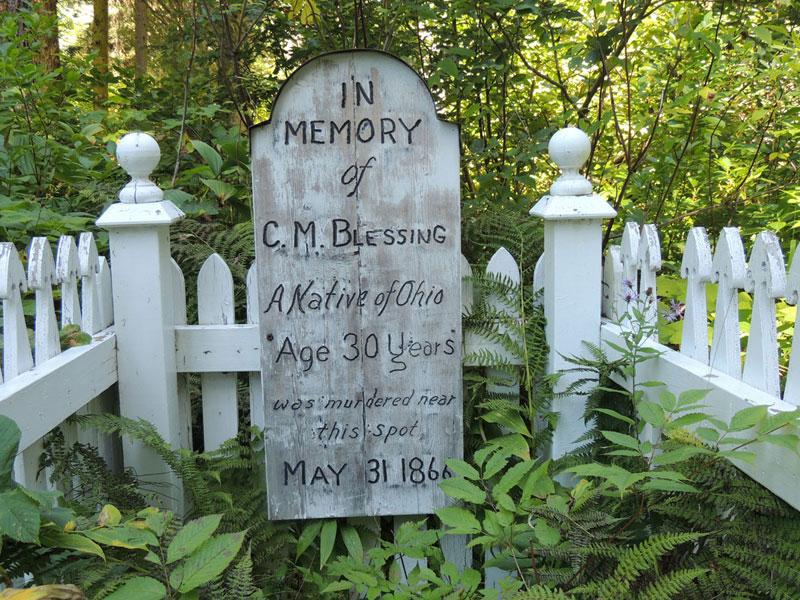 Barkerville Blessing Grave