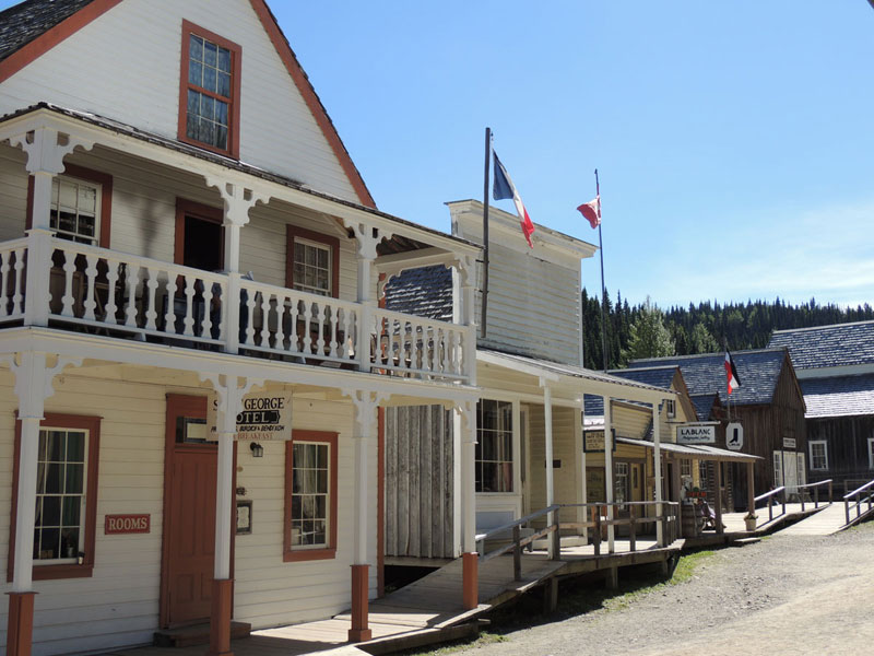 Barkerville BC Buildungs