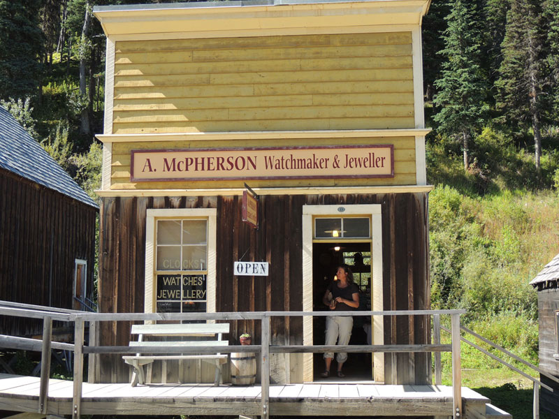 Barkerville BC - Historic Building