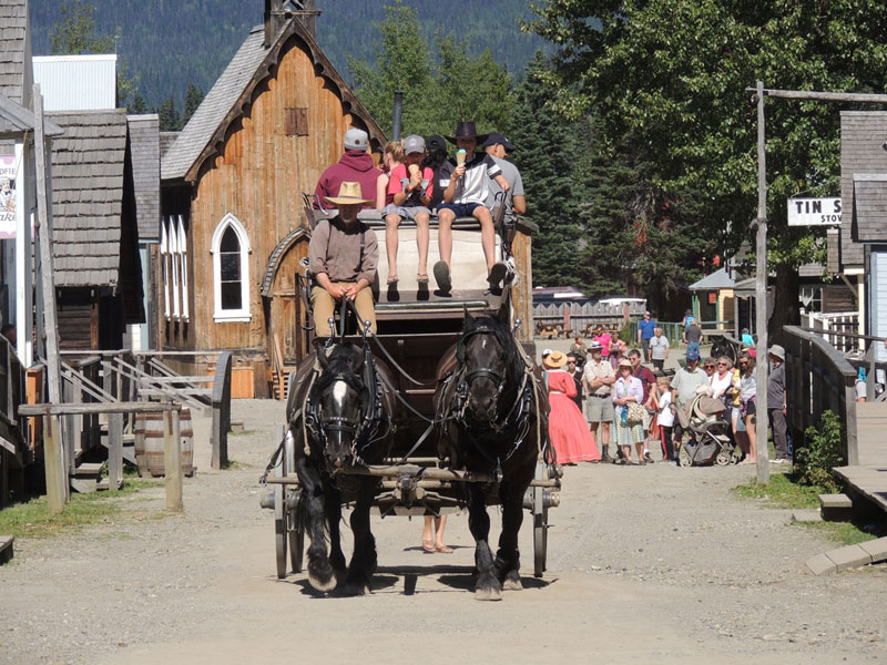 Barkerville stage coach