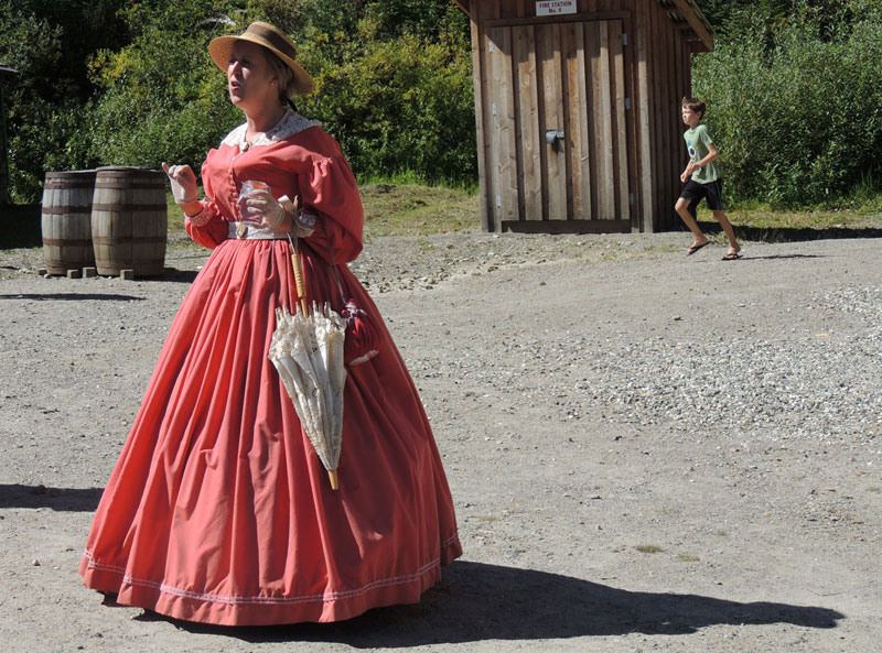 Barkerville costumes