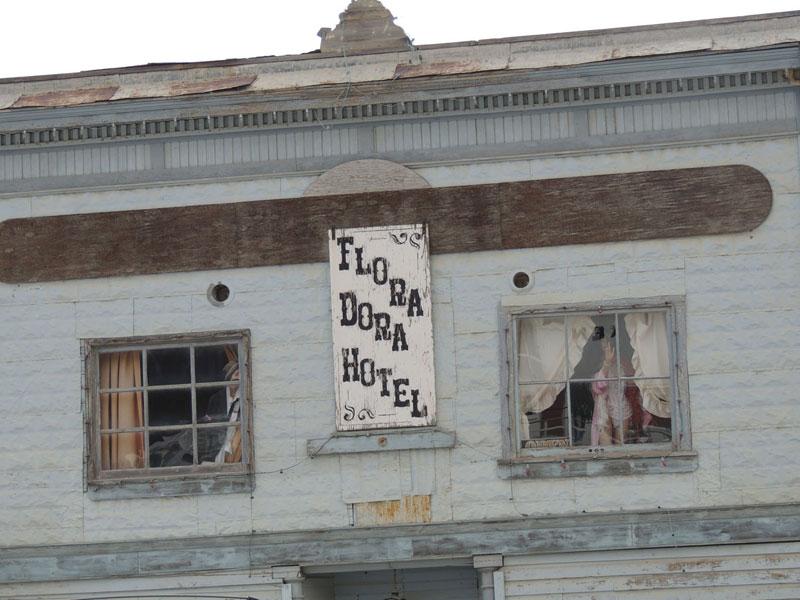 Flora Dora Hotel Dawson City