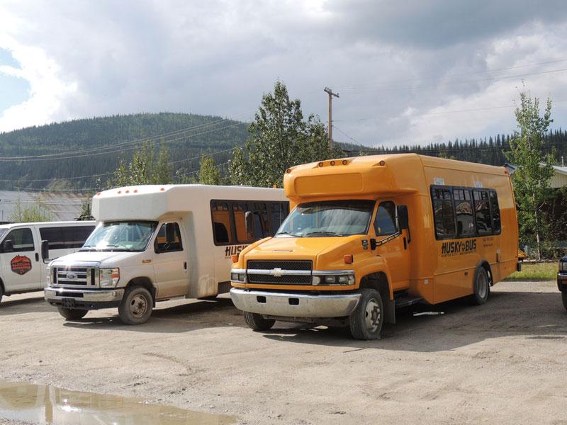 Husky Bus Dawson Yukon