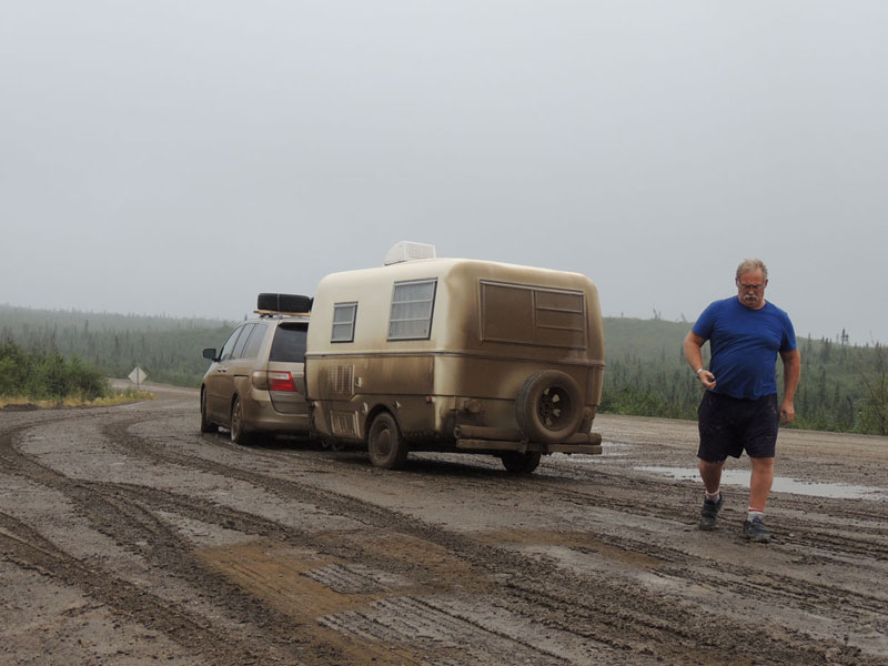 Dempster Highway - fellow traveller
