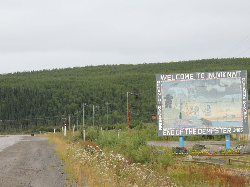 Inuvik Sign