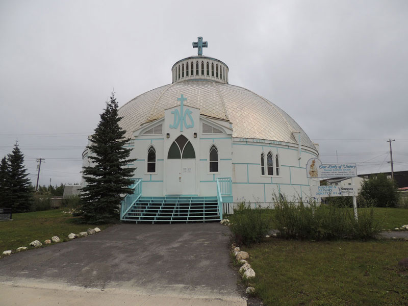 Inuvik - Igloo church