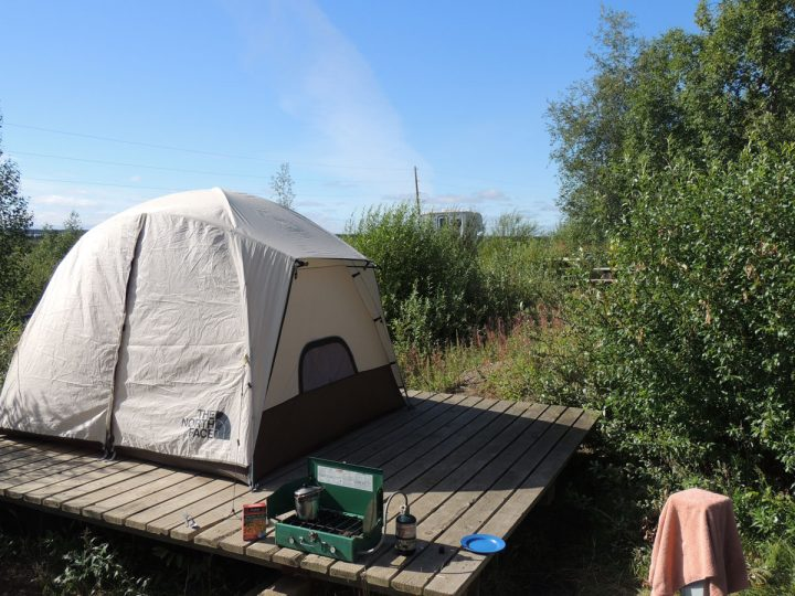 Inuvik Camping