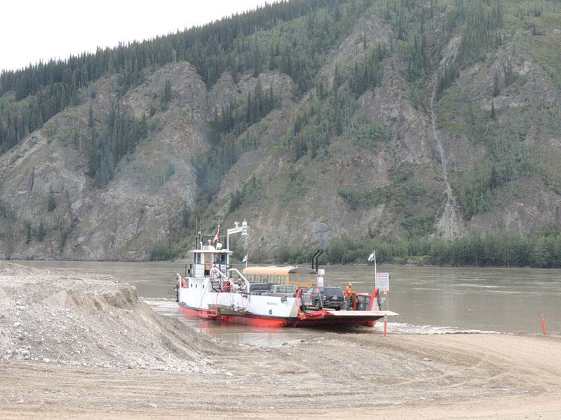 Dawson car ferry