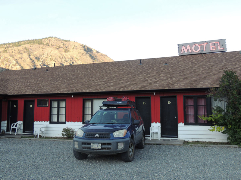 The Bait Motel, Spencer's Bridge