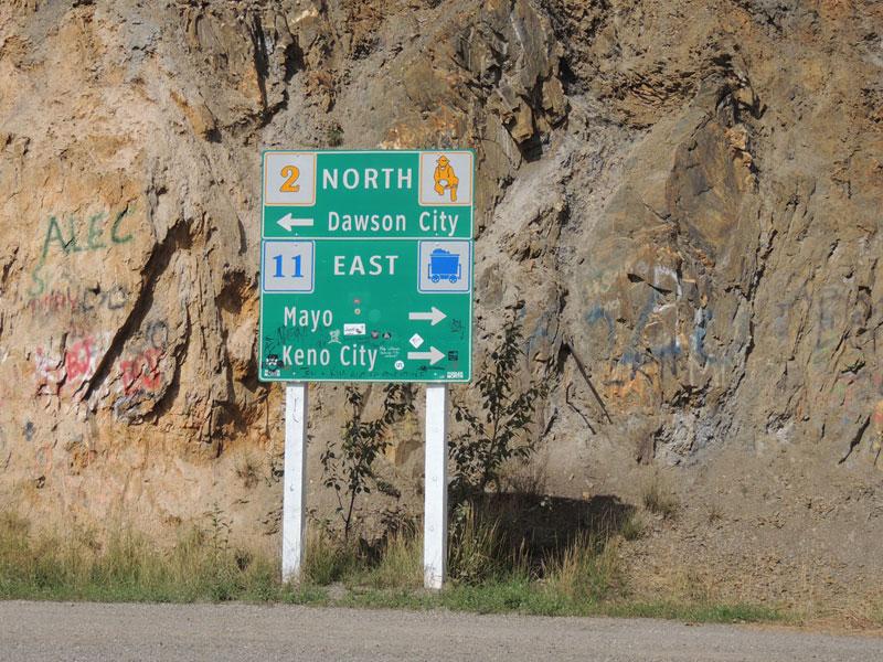Dawson City - Keno City Yukon