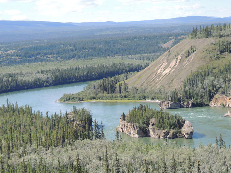 Five Finger Rapids - Klondike Highway Yukon