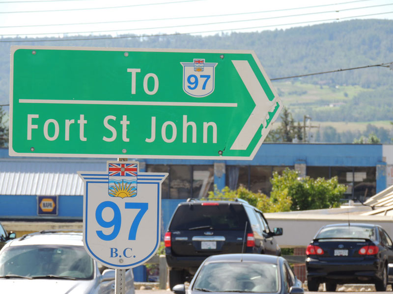 Fort St John Sign