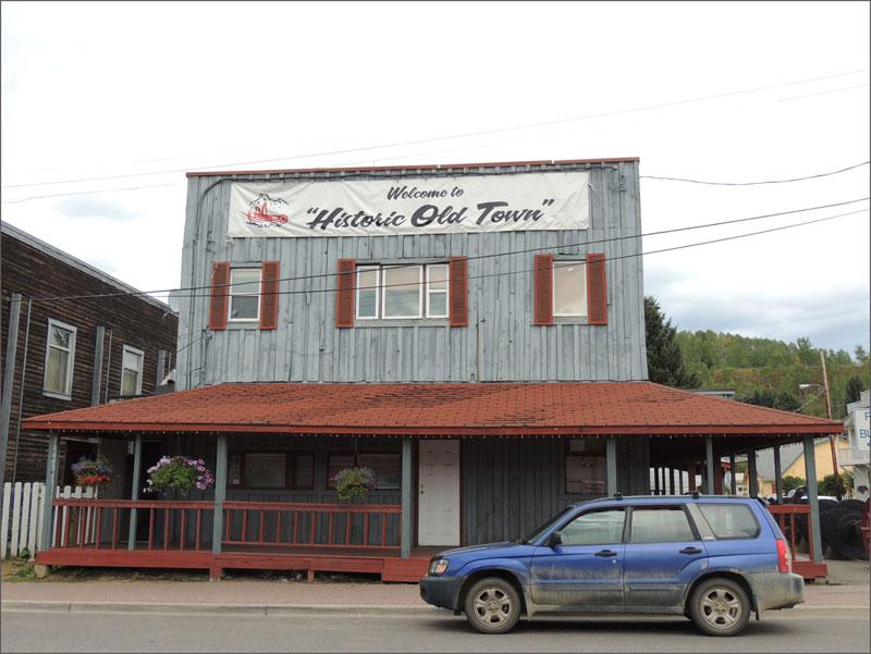 Hazelton old town
