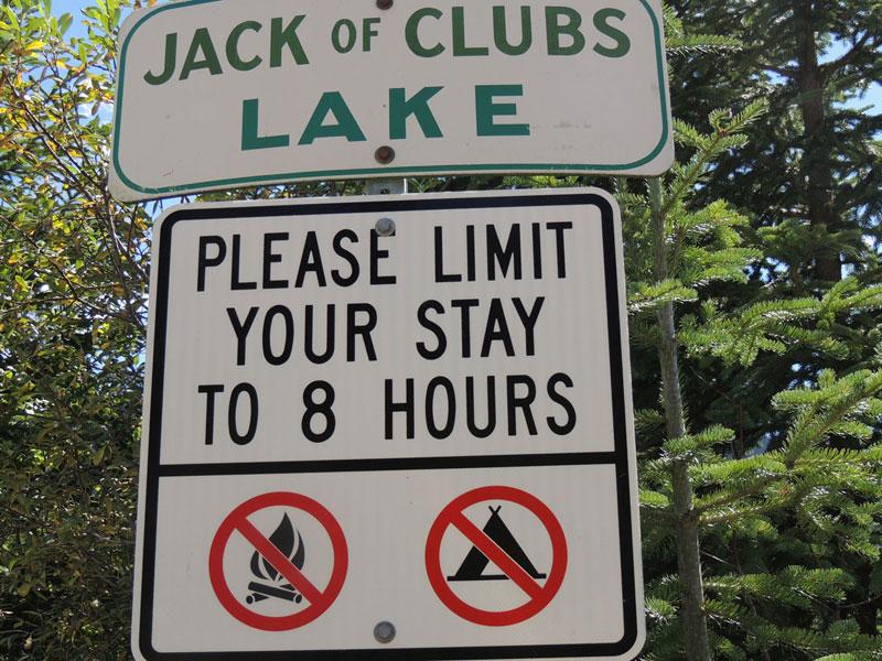 Jack O'Clubs Lake Wells