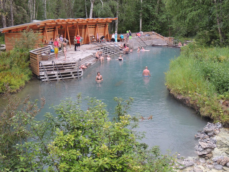 Liard Hot Springs BC