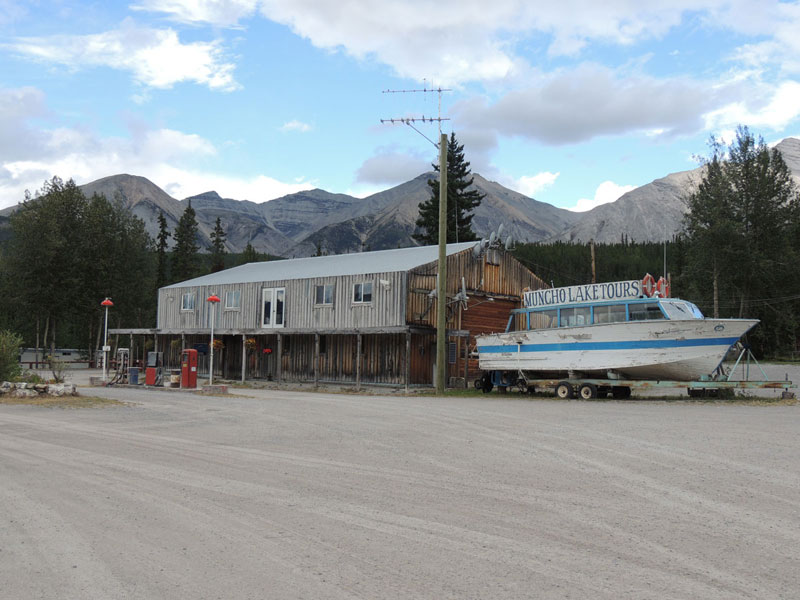 Muncho Lake Alaska Highway