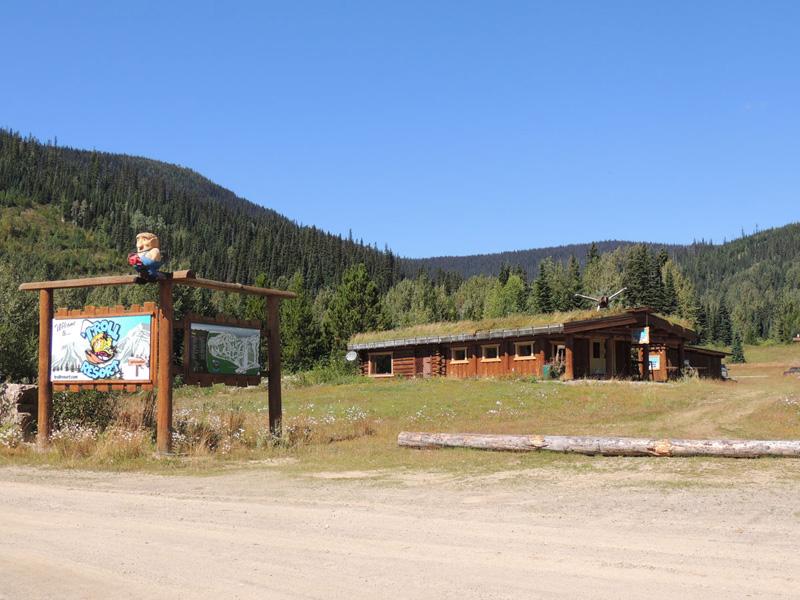 Troll Ski Resort Entrance