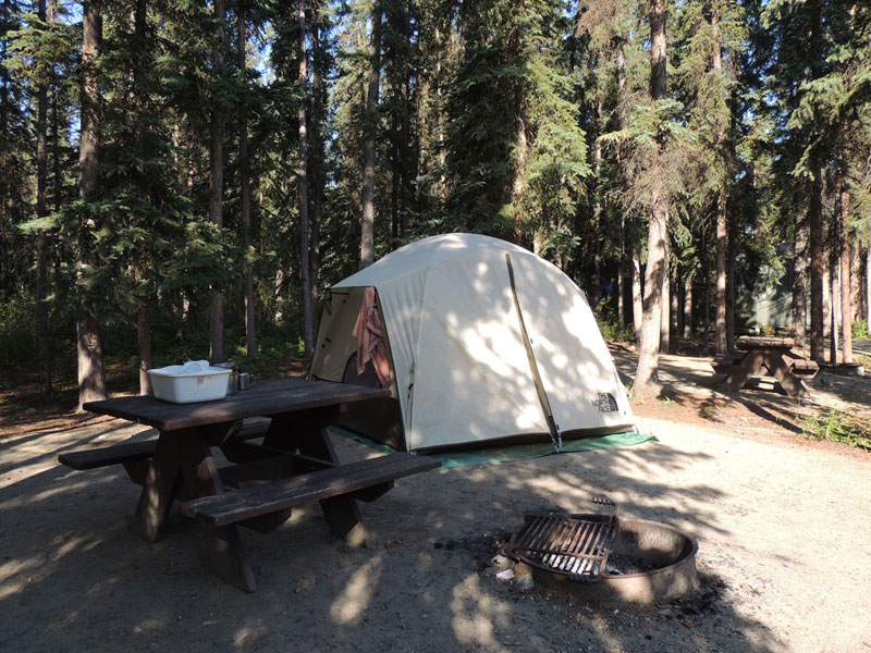 Camping Whitehorse