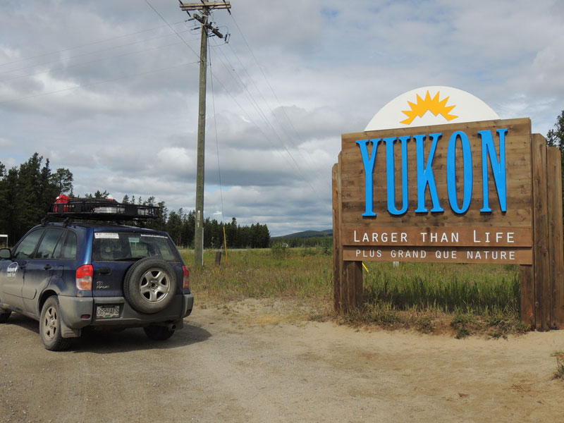 Yukon Canada - Sign