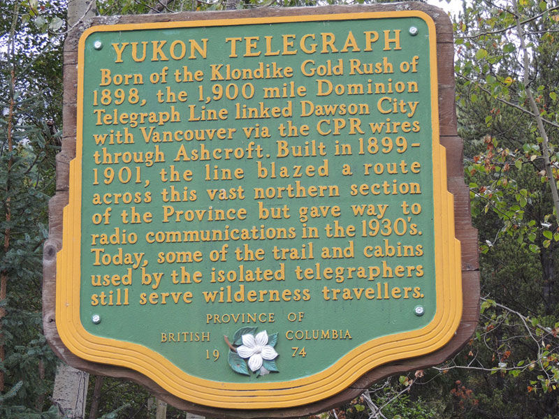 Yukon Telegraph - Cassiar Highway