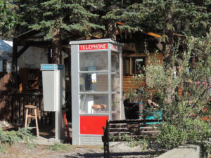 Whitehorse Old Telefon Booth