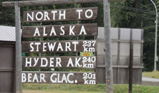 Stewart BC Hyder Alaska