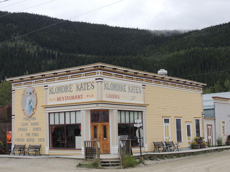 Klondike Kate Dawson City