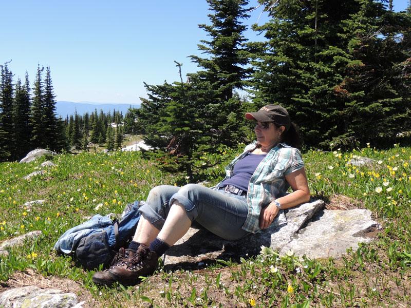 Hiking-Alone in Canada