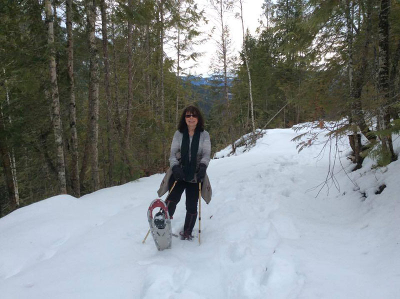 Cabin Fever - snowshoeing