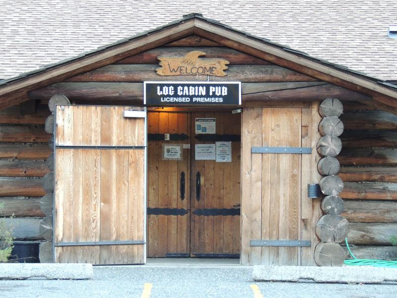 Log cabin pub Spencer's Bridge