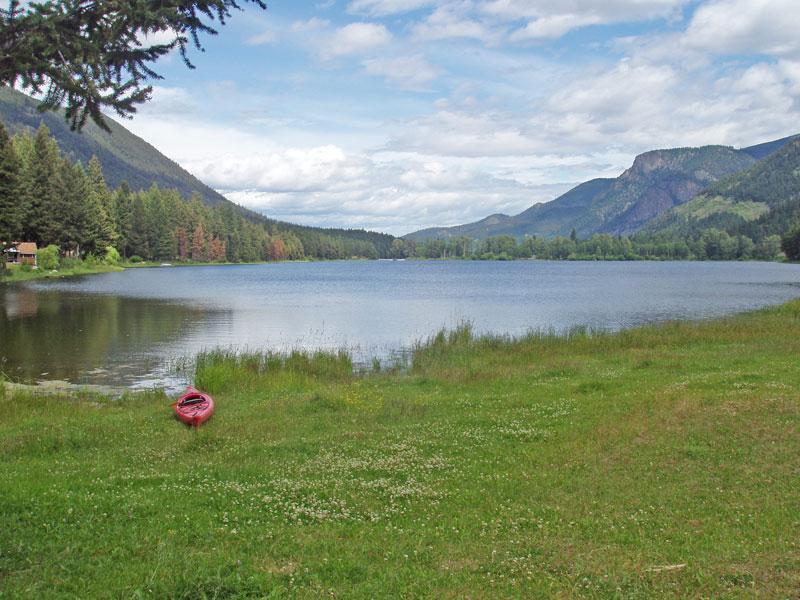 Lillooet BC Lake