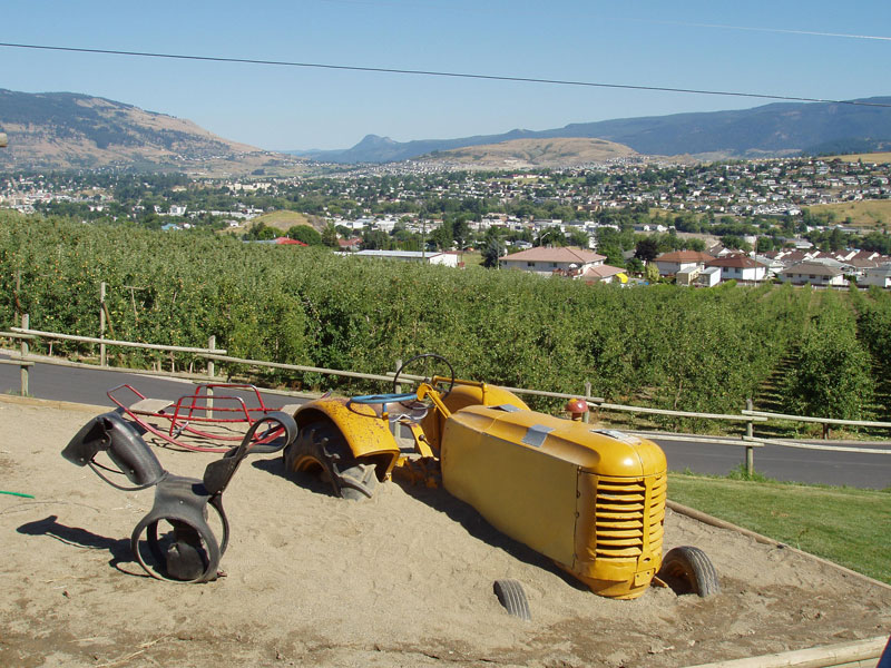 View of Vernon - Okanagan Country
