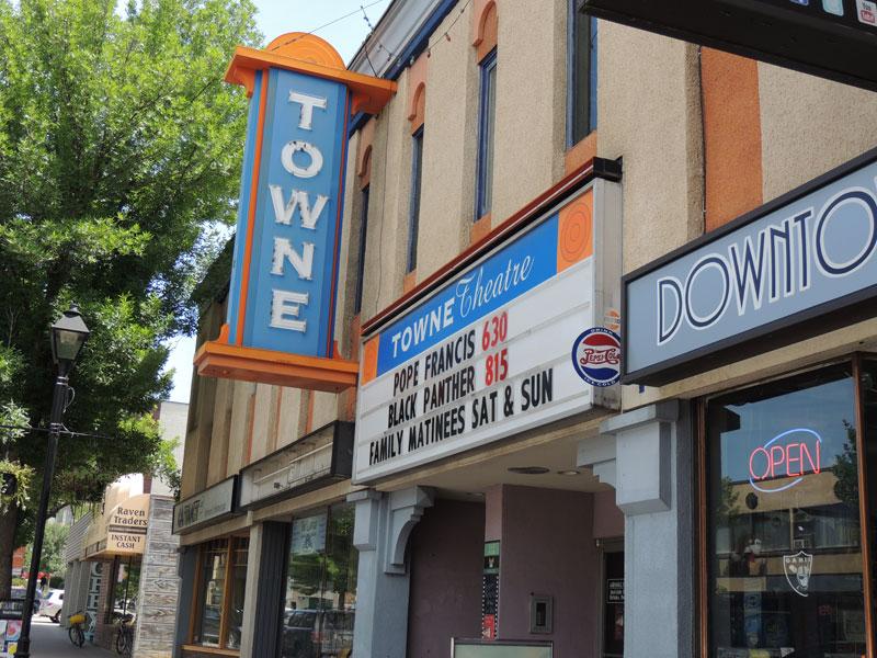 Vernon Itinerary - Towne Theatre