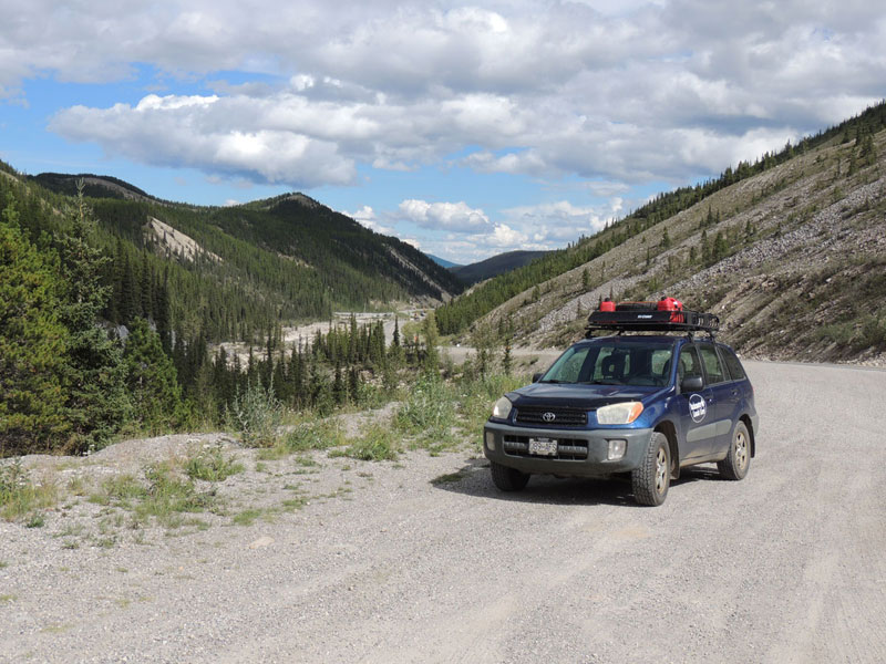 Toyota RAV4 for road tripping