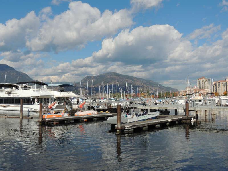 Kelowna itinerary - harbour